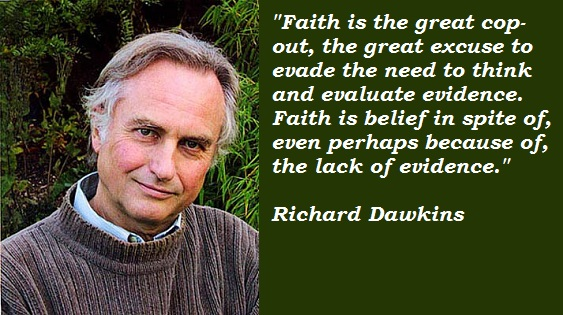 Dawkins on faith