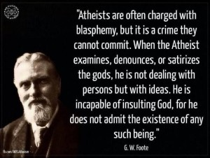 BW Foote on blasphemy