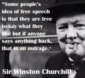 Churchill on Free Speech