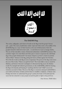 DAESH Flag Explanation 1
