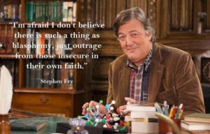 Stephen Fry on Blasphemy