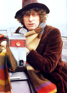 Tom Baker and K9