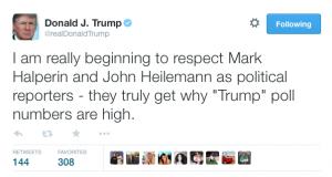 Trump tweet journos