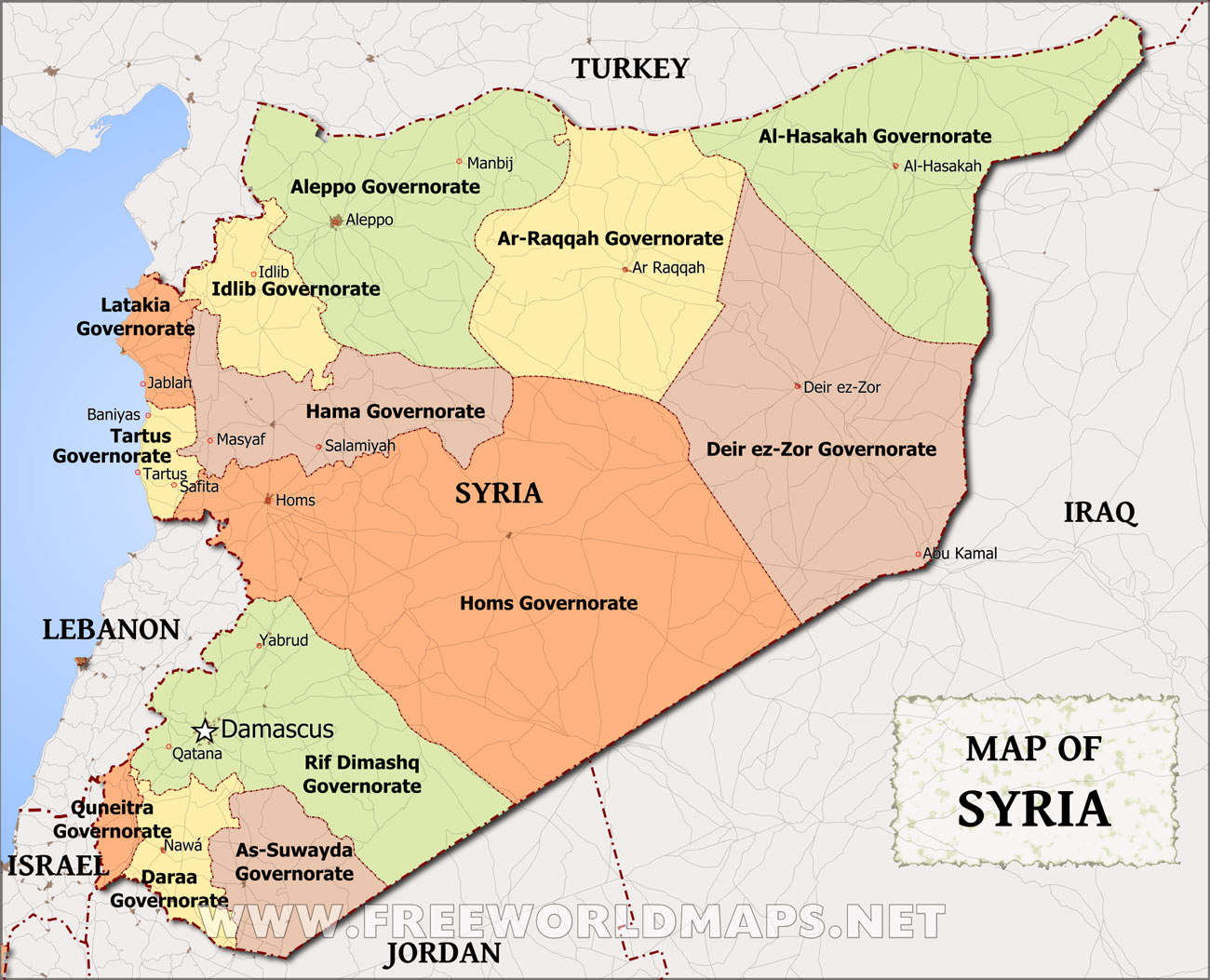 Worry Of The Week October Syria Heathers Homilies - Where is syria located on the map