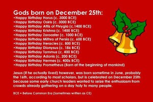 Dec 25 Birthday