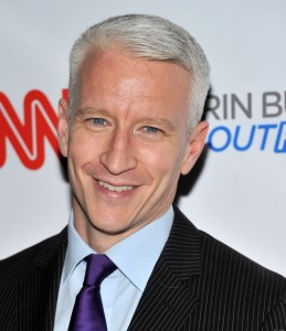 "NEW YORK, NY - SEPTEMBER 27: CNN anchor Anderson Cooper attends the launch party for CNN's ""Erin Burnett OutFront"" at Robert atop the Museum of Arts and Design on September 27, 2011 in New York City. (Photo by Stephen Lovekin/Getty Images)"