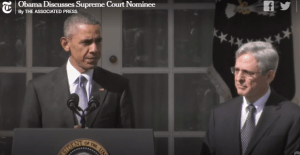 Obama Garland announcement