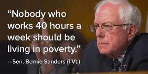 Sanders quote