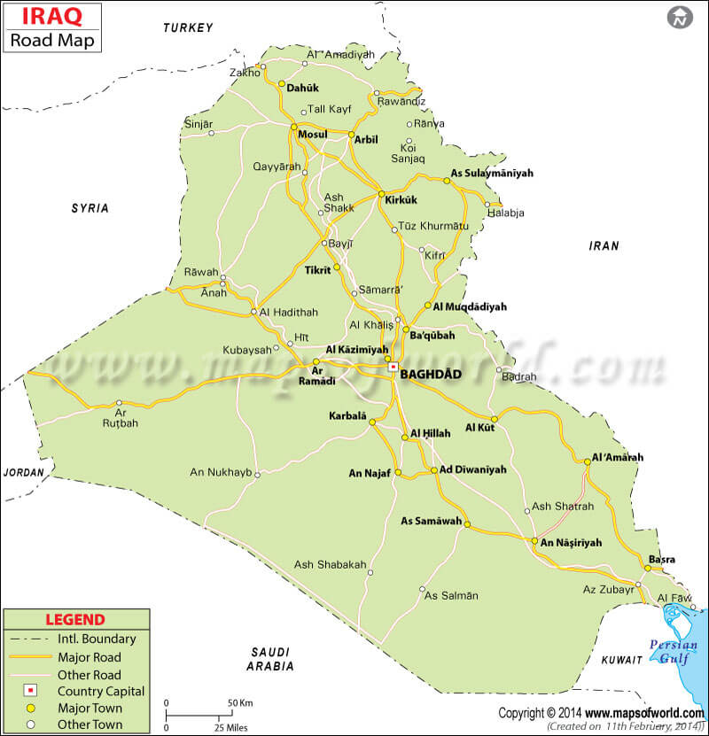 iraq-road-map-mapsofworld