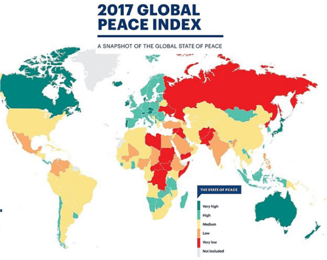 2017 Global Peace Index