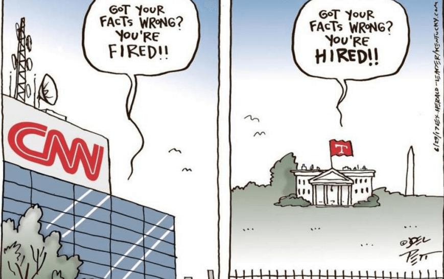 CNN vs White House