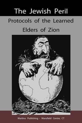 Cover: Protocols of the Learned Elders of Zion