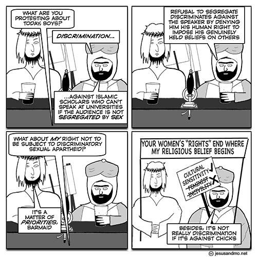 Jesus and Mo on Women's Rights