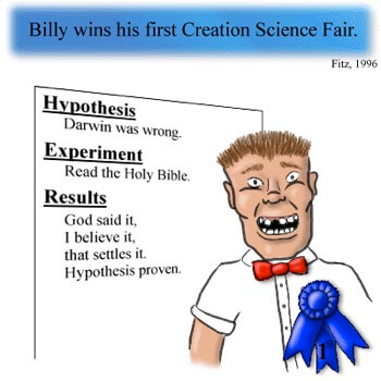 Creationism cartoon
