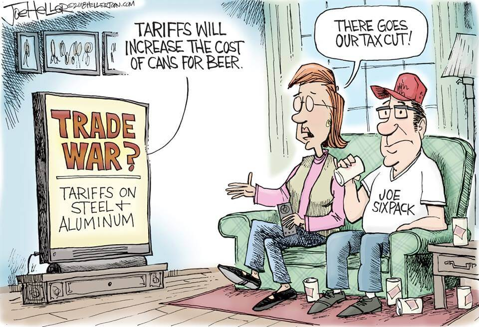 Trade War cartoon