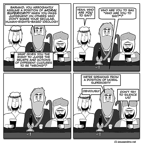 Jesus and Mo cartoon