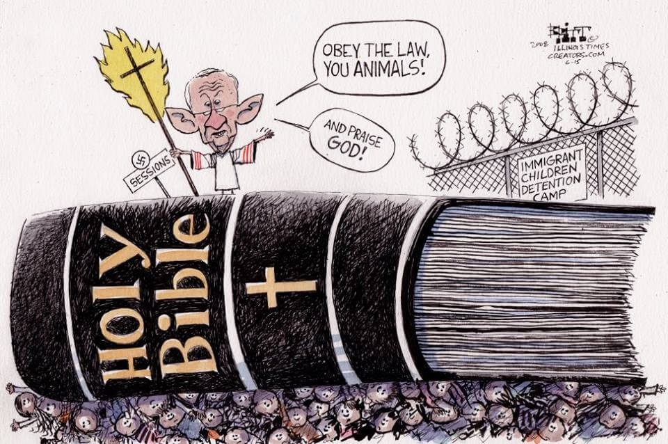 Cartoon: Session Bible Children